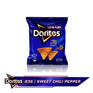 Doritos Sweet Chili Tortilla Chips 23g