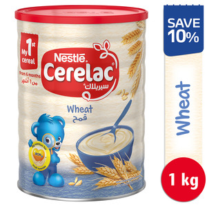 Nestle Cerelac Infant Cereals with Iron + Wheat Baby Food 1kg