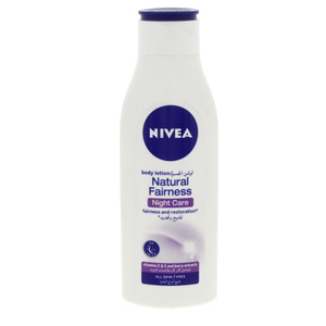 Nivea Natural Fairness Body Lotion Night Care 250ml