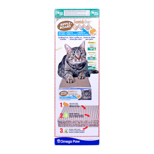 Omega Paw Ripple Board Scratch Box 5inch 1pc