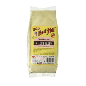 Bob's Red Mill Whole Grain Millet Flour Gluten Free 652g