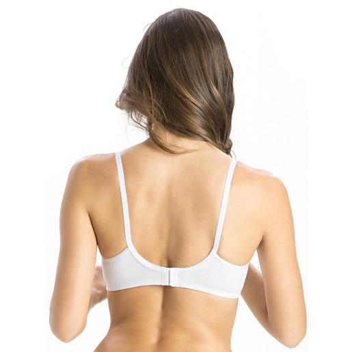 Jockey Women's Seamless Cross Over Bra 1721 White 32C