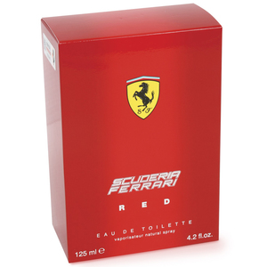 Scuderia Ferrari Red EDT Natural Spray 125 ml