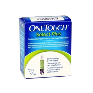 OneTouch Select Plus Strips 50's