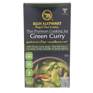 Blue Elephant Thai Cooking Set Green Curry 95g