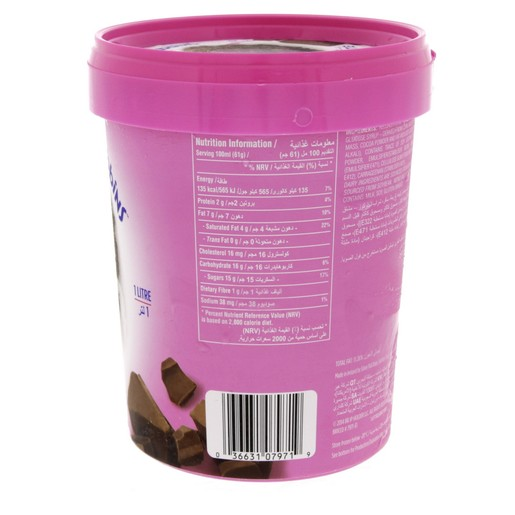 Baskin Robbins Chocolate Ice Cream 1Litre