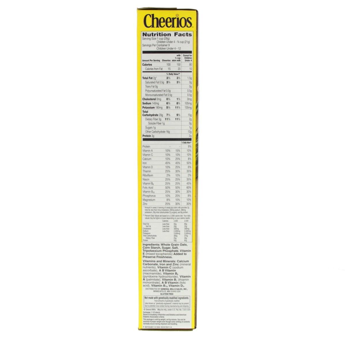 Buy General Mills Cheerios Whole Grain