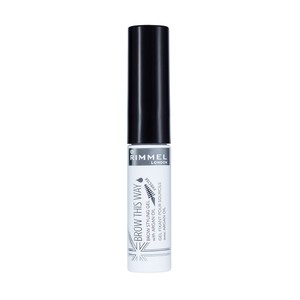 Rimmel London Brow This Way Eyebrow Gel With Argan Oil Clear 1pc
