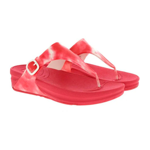 Fitflop Ladies Slipper Red