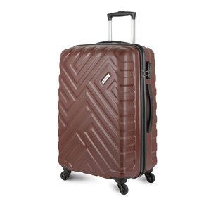 Carlton Maze 4Wheel Hard Trolley 68cm Tan