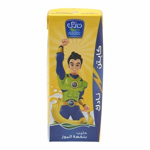 Nadec UHT Banana Milk 200ml