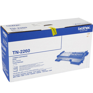 Brother Toner Cartridge TN-2260  Black