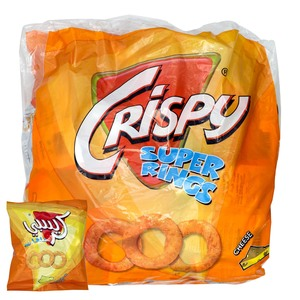 Crispy Super Rings Cheese 23 x 12g