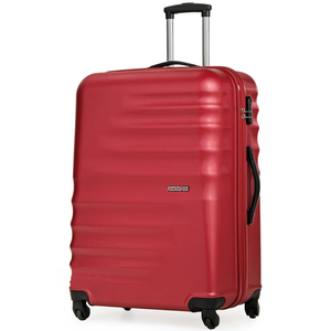 American Tourister Preston 4 Wheel Hard Trolley 77cm Red