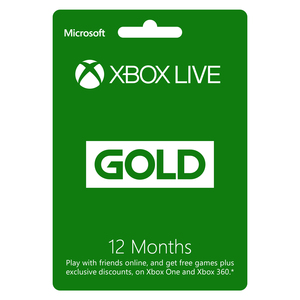 Xbox Live Gold Subscription - 12 Months [Digital Download]