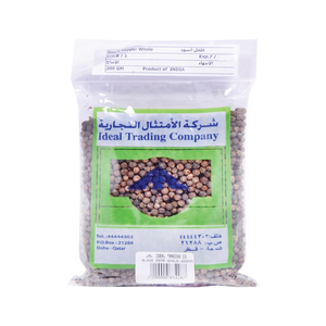 Ideal Black Pepper Whole200g