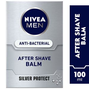 Nivea Men Anti-Bacterial After Shave Balm Silver Protect 100ml