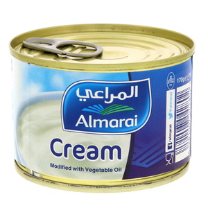 Almarai Cream Modified With Vegetable Oil 170g
