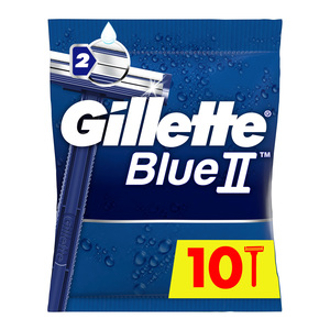 Gillette Blue II Men's Disposable Razors 10pcs