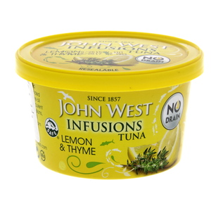 John West Infusions Tuna Lemon And Thyme 80g