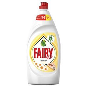 Fairy Dishwashing Liquid Sensitive Chamomile 1Litre