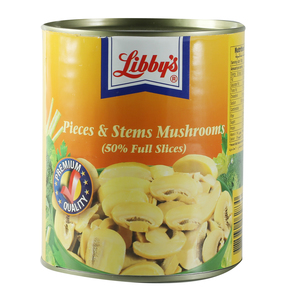 Libby's Mushrooms Pieces & Stems 800g
