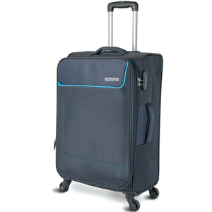 American Tourister Jamaica 4 Wheel Soft Trolley 55cm Grey