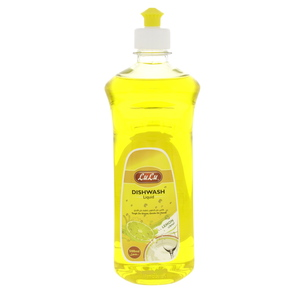 Lulu Dish Wash Liquid Premium Lemon 500ml