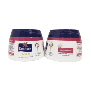 Parachute Gold Coconut & Garlic Hair Cream 2 x 140ml