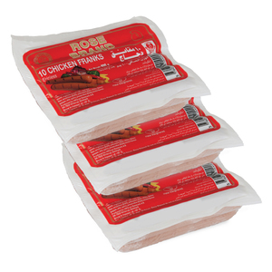 Rose Chicken Franks 400g x 3pcs