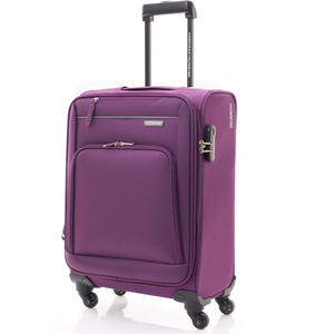 American Tourister Brook 4Wheel Soft Trolley 70cm Purple