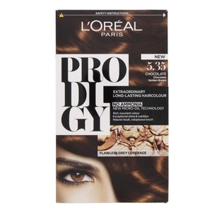 L'Oreal Prodigy Hair Color Chocolate Golden Brown 5.35 1 Packet