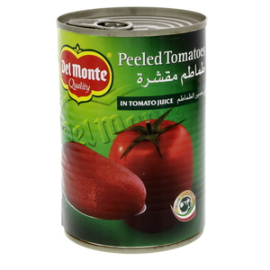 Del monte Peeled Tomatoes In Juice 400g