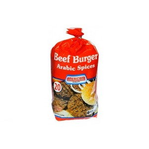 Americana Beef Burger Arabic Spices 20 x 1120g