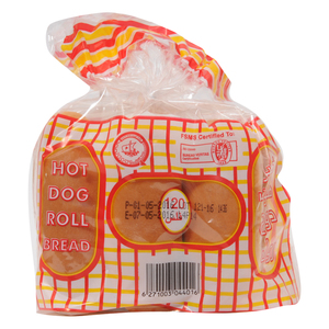 Kuwait Flour Mills And Bakeries Hot Dog Roll Bread 240g