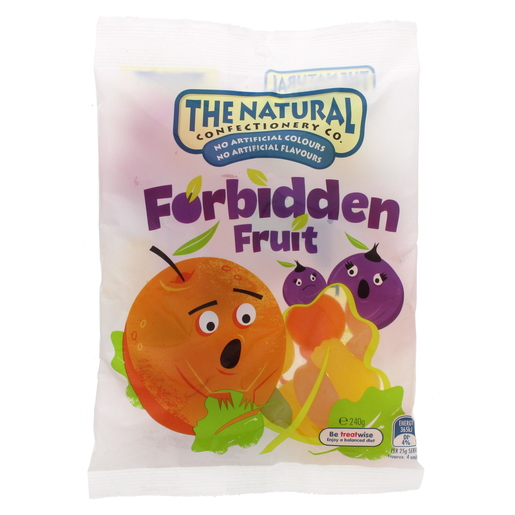 The Natural Confectionery Co Forbidden Fruit Candies 240g