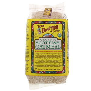 Bob's Red Mill Organic Scottish Oatmeal 567g