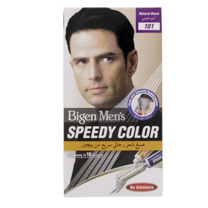 Bigen Men's Speedy Color Natural Black 101 1 Packet