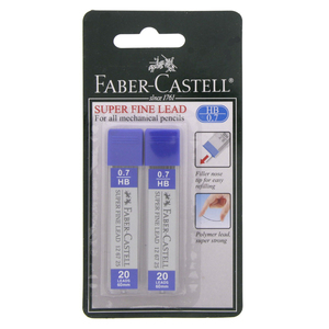 Faber-Castell Super Fine Pencil Lead 0.7 HB FCC126725