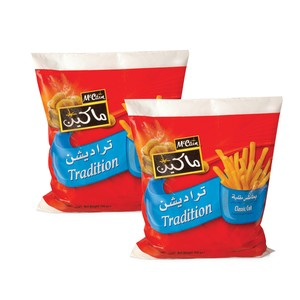 McCain French Fries Tradition 2 X 750g