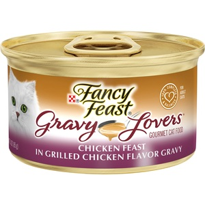 Purina Fancy Feast Gravy Lovers Chicken Feast In Grilled Chicken Flavor Gravy 85g