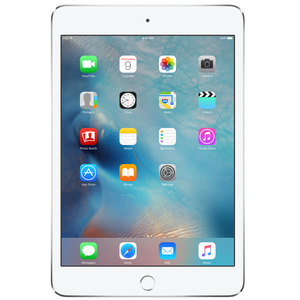 "Apple iPad Mini4 Wi-Fi 7.9"" 128GB Silver"