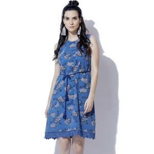 Eten Women's Washed Denim Dress 2369
