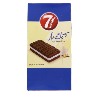 7 Days Chocolate Cake Bar 12 x 25g