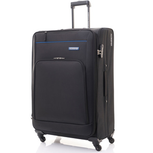 American Tourister Brook 4Wheel Soft Trolley 70cm Black