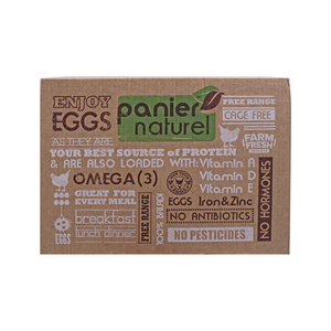 Biomass Panier Natural Egg 12pcs