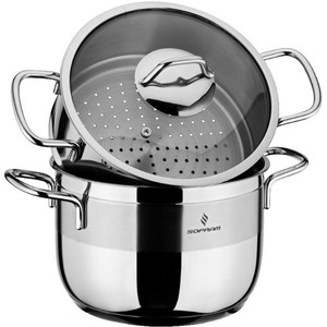 Sofram Stainless Steel Steamer With Lid 20cm