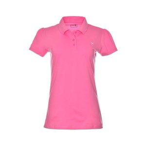 Eten Ladies Basic Polo T-Shirt Pink