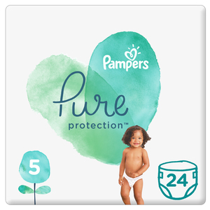 Pampers Pure Protection Size 5, 11+kg 24 Count