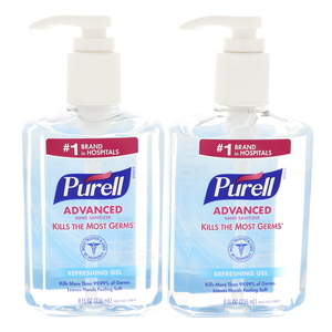 Purell Advanced Hand Sanitizer Refreshing Gel 2 x 236ml